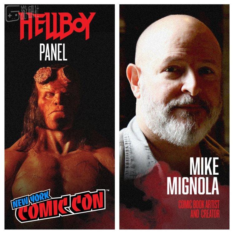 Hellboy 之父Mike Mignola