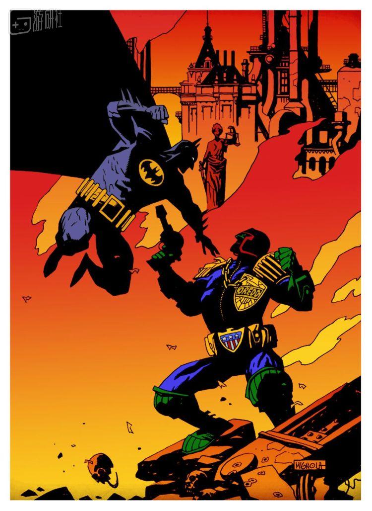 除了《地狱男爵》,Mike Mignola也参与过很多漫画作品,风格一望而知