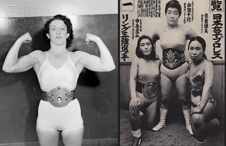 日本女摔以美国女选手作为效仿的榜样