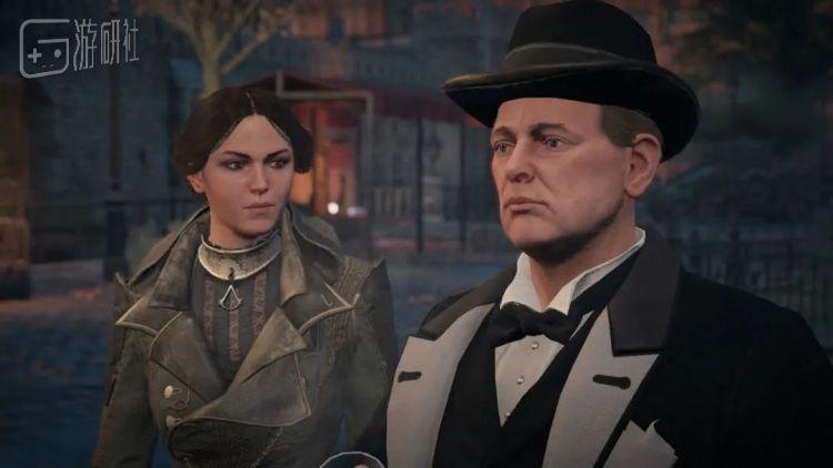 《刺客信条:枭雄》中,玩家可以在穿越回一战时遇到丘吉尔